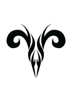 Zodiac Tattoo Designs With Image Zodiac Symbol Picture Aries Tribal Tattoo 5