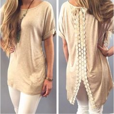 Bohemia oversized top Gorgeous top with a thick trend of embroidery all the way down, small split detail on back.      10$ items do not qualify for the half off sale. All other items are half off. Simply create your bundle submit your offer for half the original amount Tops