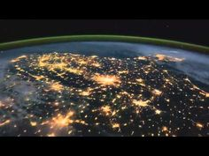 Love is all, love is new | Love is all, love is you | .....Because- the Beatles, Earth Time Lapse View from Space