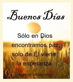 Imagenes Cristianas de Buenos Días