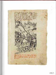 Hessische Chronik von Wigand Gerstenberg. nach 1504.  Darmstadt, Universitäts- und Landesbibl., Hs. 238, Fol 51r