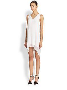 Helmut Lang Breeze Hi-Lo Dress (=)