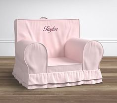 Oversized Pink Lux Ruffle  Anywhere Chair® #pbkids