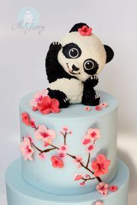 How to Make Cherry Blossoms on Cake; Moneting it                                                                                                                                                     More