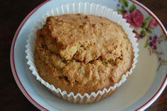 Wortel haver muffins