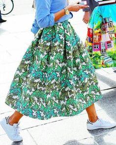 "160 Me gusta, 5 comentarios - CANIWEARITNEXT (@caniwearitnext) en Instagram: ""Skirt of my dreams! 💚💚 #caniwearitnext"""