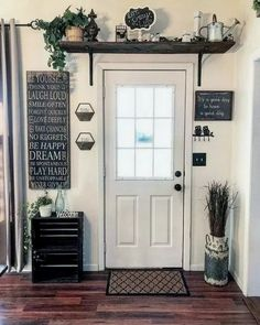 Are you looking for images for farmhouse living room? Browse around this website for amazing farmhouse living room inspiration. This unique farmhouse living room ideas looks totally amazing. Home Design, Interior Design, Design Hotel, Room Interior, Design Ideas, Wall Design, Modern Interior, Entryway Decor, Above Door Decor