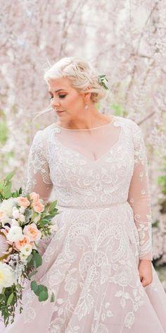 Wonderful Perfect Wedding Dress For The Bride Ideas. Ineffable Perfect Wedding Dress For The Bride Ideas. Long Sleeve Wedding, Wedding Dress Sleeves, Modest Wedding Dresses, Bridal Dresses, Gown Wedding, Couture Dresses, Lace Sleeves, Dresses Dresses, Fashion Dresses