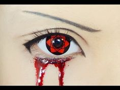 Tutorial : Anime Eye Makeup 61 • Sasuke Uchiha