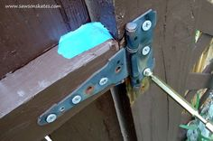 How to Make a Garden Gate with a Piece of Fence