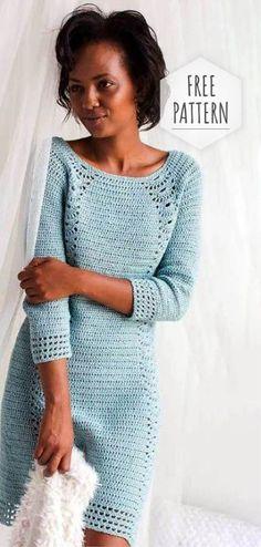 c6669fa8b0f Crochet Nice Dress Free Pattern