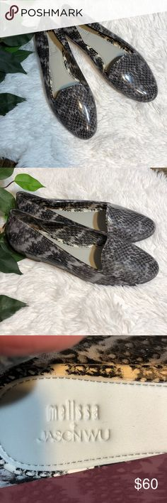 Melissa + Jason Wu Flats New never worn ~ Clear and black sold out in stores!! ~ Size 8 ~ Melissa + Jason Wu Shoes Flats & Loafers