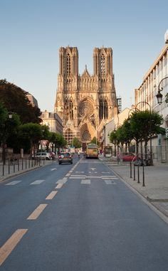 Reims, France, The home of Champagne .... one of my very favorite places!