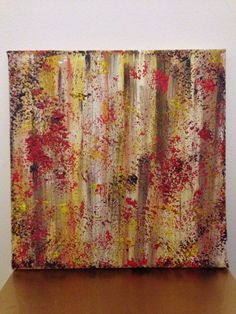 Painting: Forest Collection - Antagonism  20x20cm acrylic on canvas  Price: 40 £