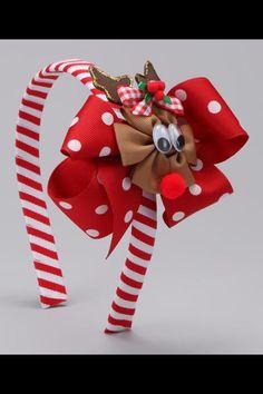 Reindeer headband!