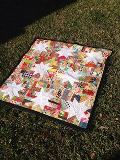Round Robin Winter Wonderland Row 7 with Mary of Tulip Patch -