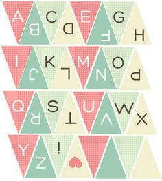 Paper Bunting printables by me!