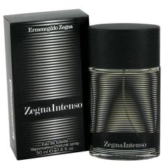 Zegna Intenso by Ermenegildo Zegna Eau De Toilette Spray 1.7 oz. From the Italian's men's luxury fashion house , famous for their patterned and sophisticated ties, this woody spicy fragrance for men is all about seduction. Using the interplay of dark and light as the theme, the fragrance evokes the Italian fine arts technique of chiaroscuro, light and shadow. The light notes are: mandarin, lemon, cardamom and pink pepper at the top and the dark and sensual notes are amplified in the heart…