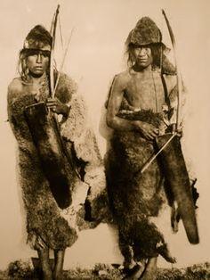 Jovenes selknam 1896