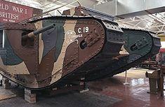 tank mark I a Bovington