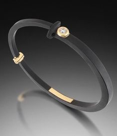 Iron Diamond set in Gold Size Small Diamond Nails, Steel Jewelry, Bangles, Bracelets, Cartier Love Bracelet, Round Diamonds, 18k Gold, Designers, Jewelry Design
