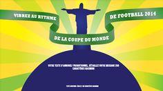 Template pub vidéo pour la coupe du monde au Brésil