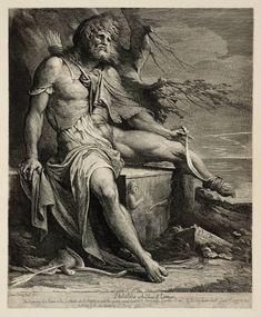 Philoctetes in the Island of Lemnos - James Barry - 1777-1808