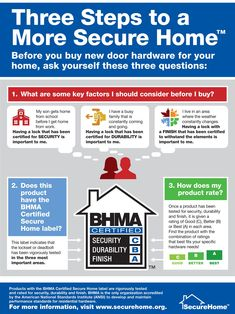3 questions to ask before buying new door hardware [Infographic] - The Caswell Messenger: Home Improvement Questions To Ask, This Or That Questions, Safety And Security, What You Can Do, Home Improvement Projects, Get Started, Budgeting, Infographic, Things To Come
