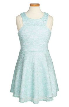 Sally Miller 'Halley' Lace Dress (Big Girls) available at #Nordstrom