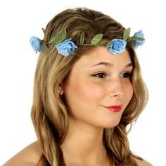 Sale! Rosette Flower Boho Chic Halo Headband