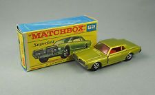 Matchbox Superfast 62 Mercury Cougar