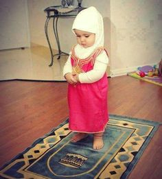 I wish to educate my child on how to pray... I wish we could do it together all the time :)