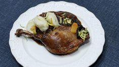 Staročeská kachna s povidlovou omáčkou a bramborovými noky | Prima French Toast, Pork, Meat, Breakfast, Kale Stir Fry, Morning Coffee, Pork Chops