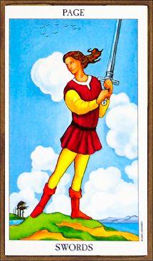 Page of Swords - Tarot Card Meaning & Interpretation