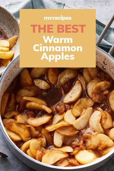 This simple spiced apples recipe is great for breakfast, a warm and yummy side, or served atop pork. If you can't find McIntosh apples, substitute Apple Dessert Recipes, Low Sugar Recipes, No Sugar Foods, Apple Recipes, Delicious Desserts, Yummy Food, Drink Recipes, Yummy Recipes, Tasty