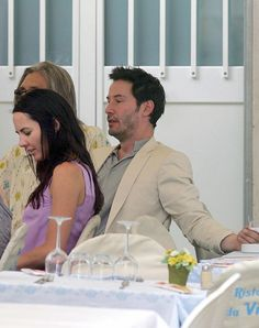 Keanu Reeves and Anita Hoson Keanu Reeves John Wick, Keanu Charles Reeves, Keanu Reeves Girlfriend, Lynn Collins, Keanu Reeves Quotes, Keanu Reaves, Attractive Girls, Music Library, Sandra Bullock