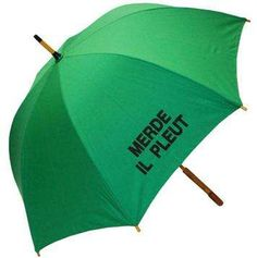 NOT happy when it rains. http://www.trendhunter.com/trends/merde-il-pleut
