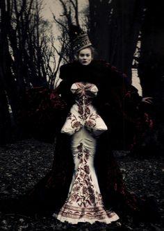 Christian Dior Haute Couture worn by Monika Jagaciak
