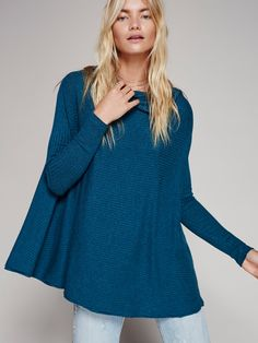 Lovers Rib Thermal | In a super soft and cozy rib, this oversized and slouchy…