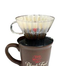 Black Fuel Coffee Dripper -- Click affiliate link Amazon.com on image for more details.