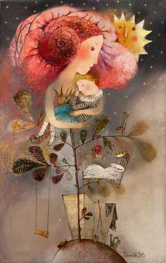 "Ternura (inspirado en ""El Principito"") - de Anna Silivonchik"