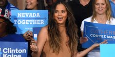 Chrissy Teigen Annihilates The Twisted Logic Of Equating Trump And Clinton Scandals