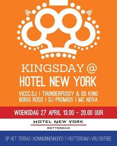 De derde editie van Kingsday@HotelNewYork komt eraan! Hotel New York, Rotterdam, Dj, Instagram Posts