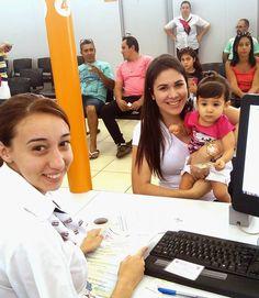 Maria Eduarda, de apenas 1 aninho, foi com a mãe Fernanda Bessa Nogueira tirar o #primeiroRG com o número do CPF. Parabéns às duas pelo exemplo de cidadania!
