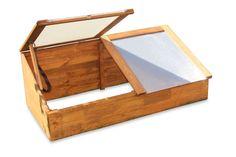 Gewächshaus Treibhaus Frühbeet Kasten aus Holz: Amazon.de: Haustier