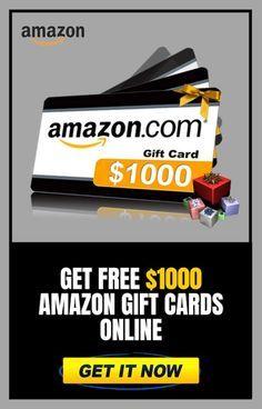 Get Free 1000 Amazon Gift Cards Online Amazon Gift Card Free Cash Gift Card Amazon Gift Cards