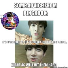 Golden Maknae's golden words xD