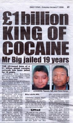 I was in charge of a multinational cocaine business, a Colombian national who managed to become the first billion pounds cocaine cartel in the United Kingdom. #truecrime #colombian #cartel #sicario #refugee #kingpin #money #biography #unitedkingdom #colombia #scotlandyard #prison #lawenforcement #druglord Mr Big, War On Drugs, Wish You The Best, Sleepless Nights, True Crime, Book Reviews, Love Book, Biography, Book Lovers
