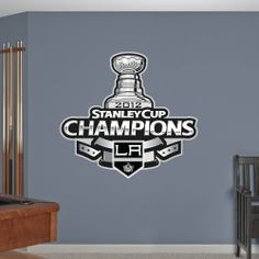 Los Angeles Kings 2012 Stanley Cup Champions Logo