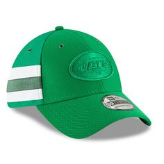 0bffda2cecc Men's New York Jets New Era Kelly Green 2018 NFL Sideline Color Rush  Official 39THIRTY Flex Hat, $31.99